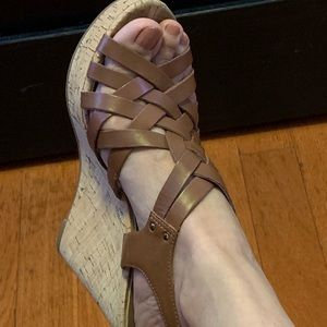 Guess Eppie Wedge Sandal